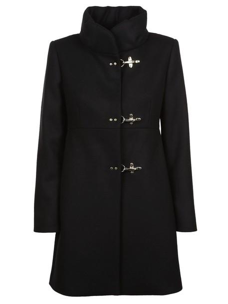 FAY coat classic black