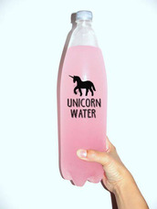 bag,water,unicorn,home accessory,pink,drink,fancy,magical,all pink wishlist,water bottle,tumblr,summer,cute