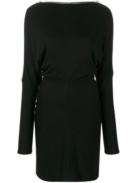 Alexander Wang top women spandex black wool