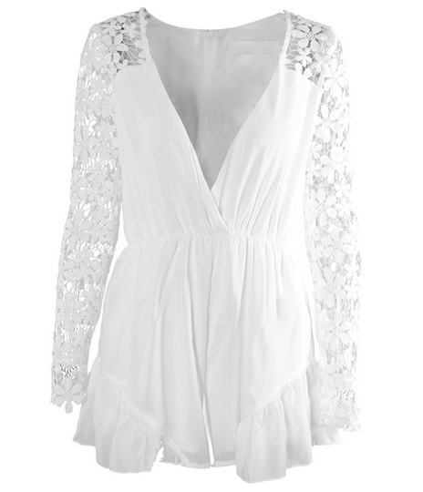 Lovegirl Lace Playsuit