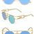 Two-Line Point Fashion Sunglasses