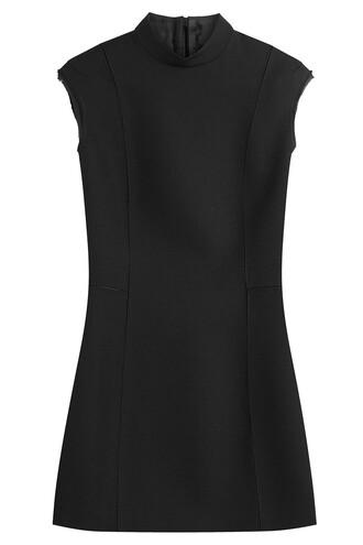 dress mini dress mini wool black