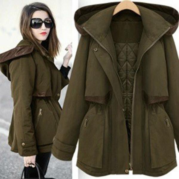 coat hood slim