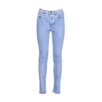 jeans skinny jeans zip light blue light blue