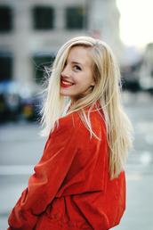 framboise fashion,coat,t-shirt,shirt,pants,shoes,bag,orange,blogger,vintage