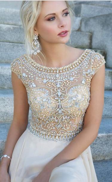 dress creme dress