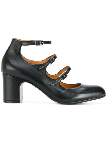 Chie Mihara women flawless pumps leather black shoes