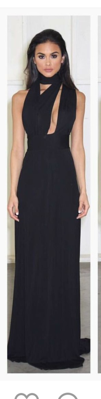 dress evening dress black dress formal dress