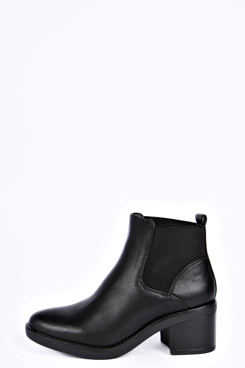 Helen Block Heel Pull on Chelsea Boot