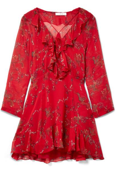 Iro dress mini dress mini red