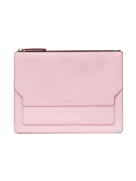 leather clutch women clutch leather purple pink bag
