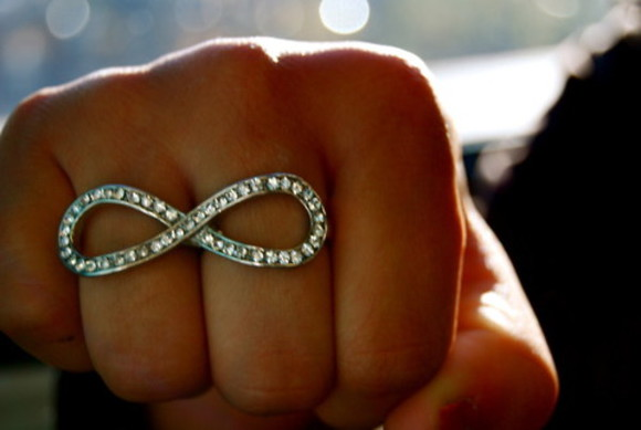 ring jewels double ring infinity infinity ring