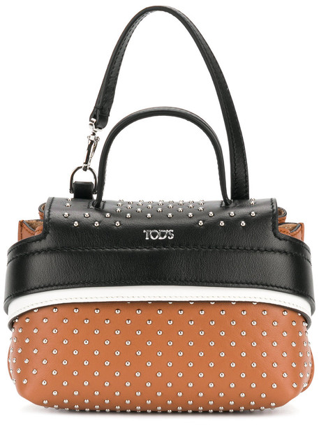 bag charm women bag leather brown