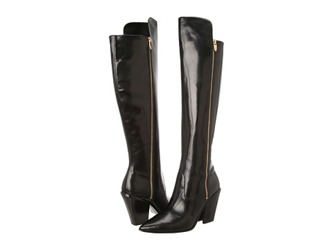 Sigerson Morrison Ilaine Black Leather - Zappos Couture