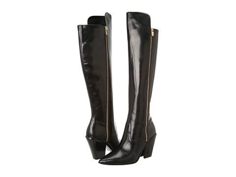 Sigerson Morrison Ilaine Black Leather - Zappos Couture