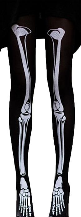 Black skeleton stockings · the lace kitten · online store powered by storenvy