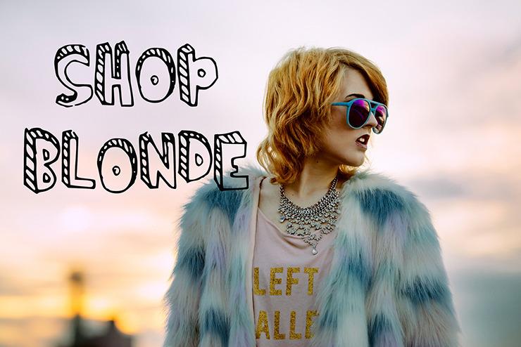 SHOP BLONDE — Home