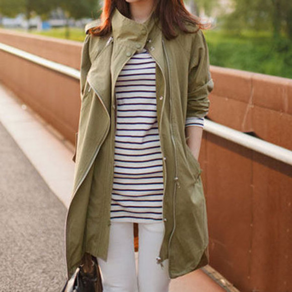 oversize coat leisure lapel