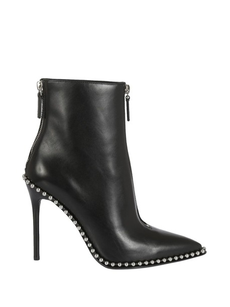 Alexander Wang studded ankle boots black shoes