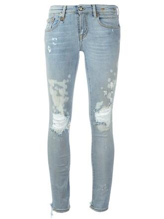 jeans skinny jeans women spandex cotton blue