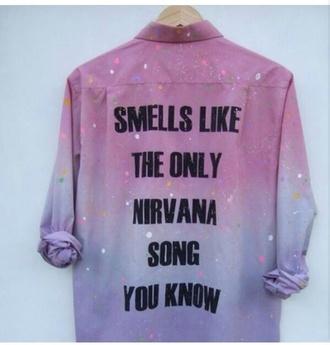 top nirvana 90s style grunge rainbow