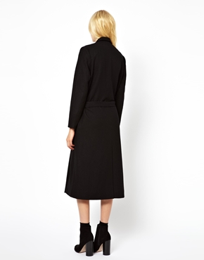Just Female | Just Female Maxi Coat at ASOS