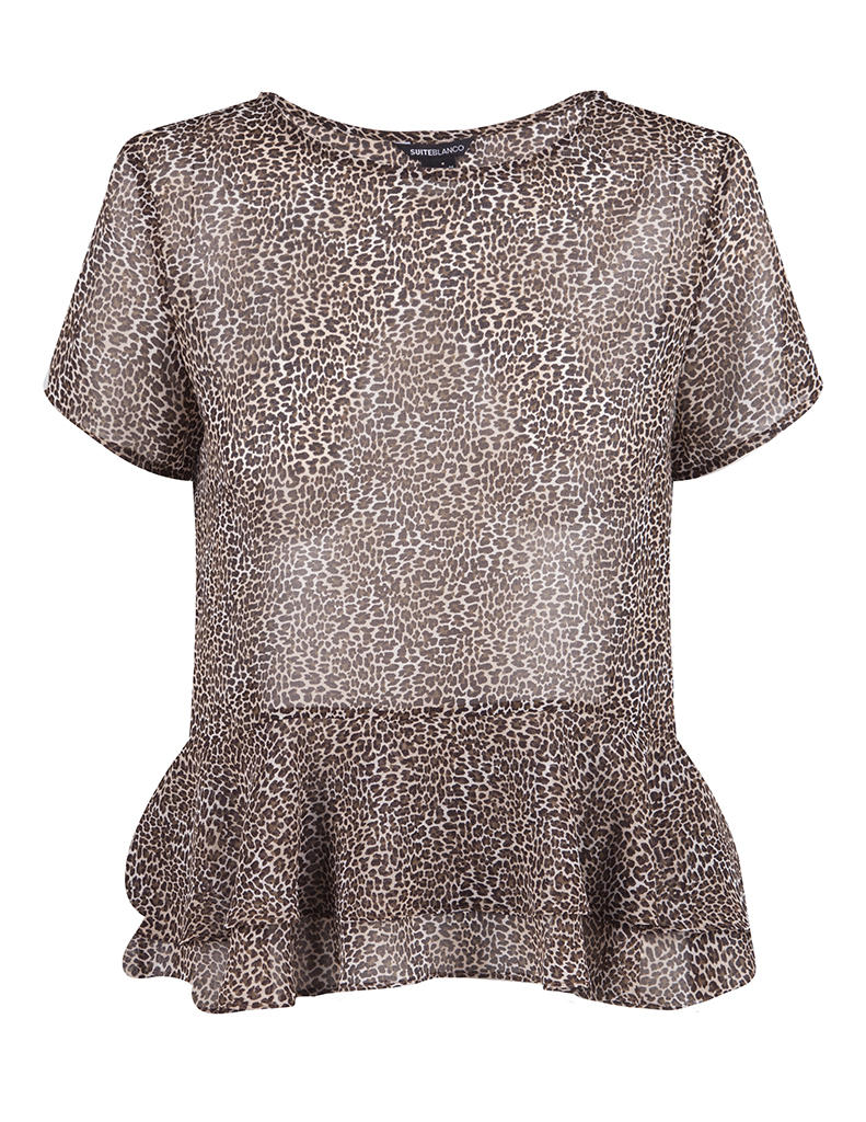 Top fluido animal print | SHOP ONLINE BLANCO.COM