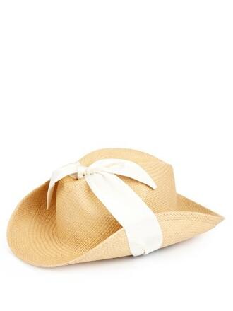 cowboy hat hat dark beige