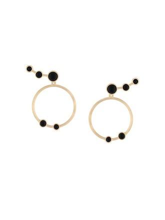 women earrings hoop earrings black jewels