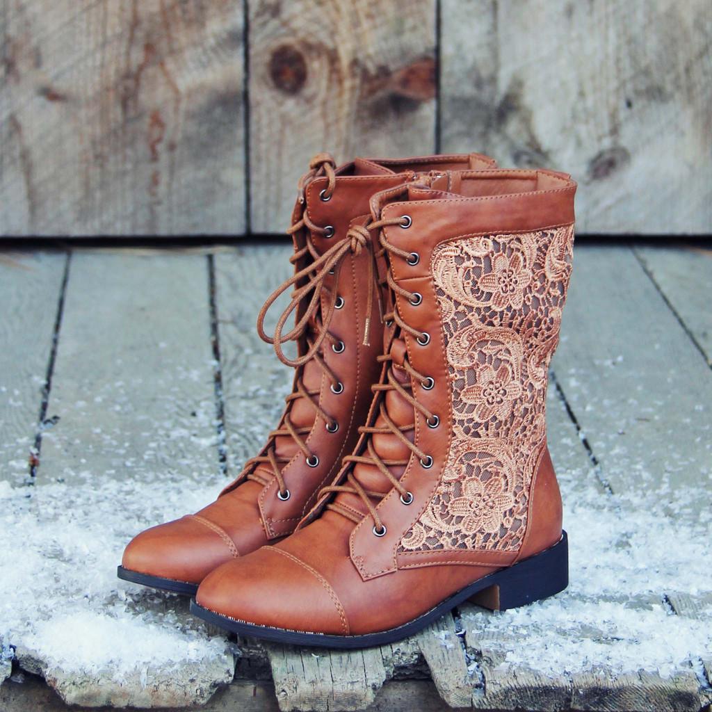 Znalezione obrazy dla zapytania lace boots