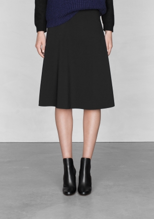 A-line midi skirt | A-line midi skirt | & Other Stories