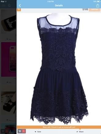dress lace navy navy dress blue lace dress