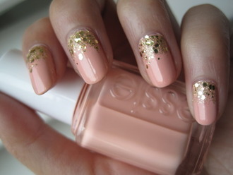 jewels essie nails nail polish nails polish glitter wedding accessories date outfit hair/makeup inspo summer beauty