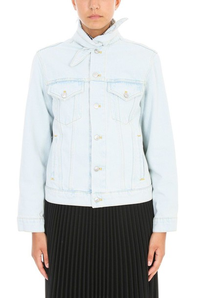 Balenciaga jacket denim blue