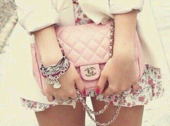 bag clutch pink bag chanel