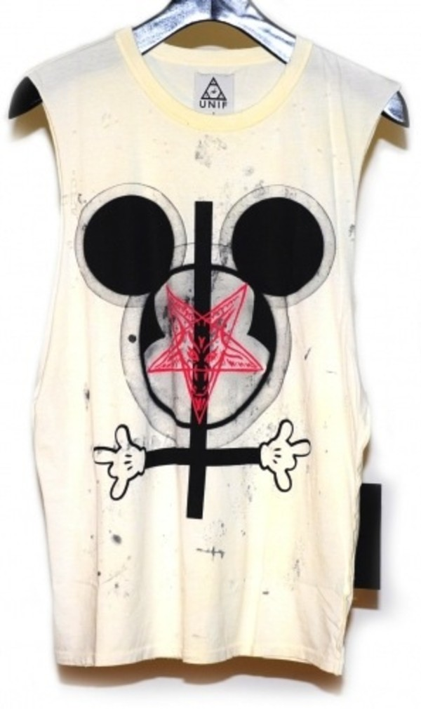 t-shirt disney disney mickey mouse hipster punk