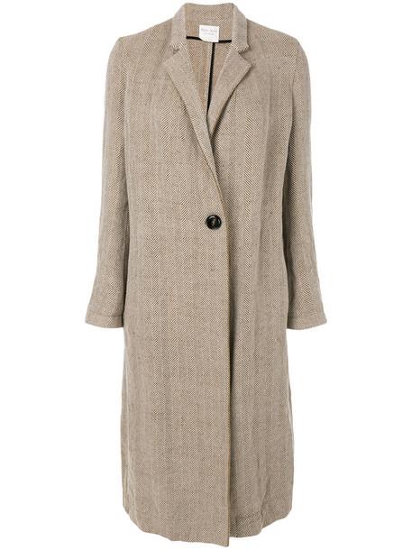 Forte Forte coat women wool brown