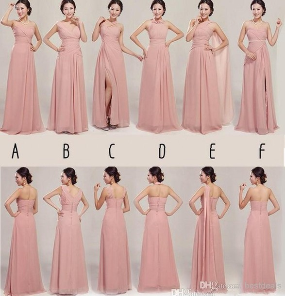 long bridesmaid dress patterns