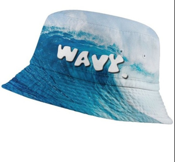 hat bucket hats waves sun hat