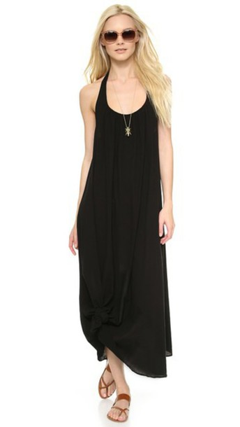 9Seed Antigua Cover Up Dress - Black