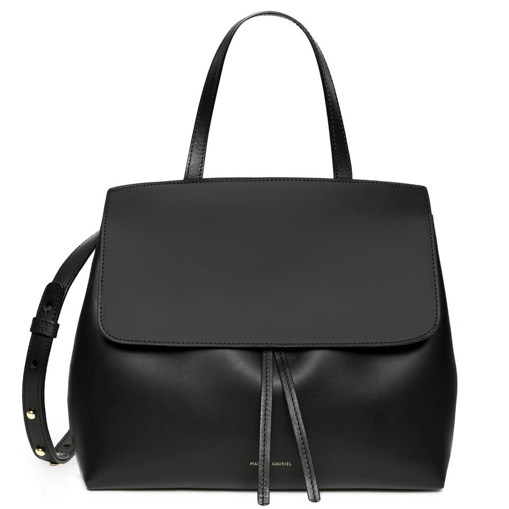 Mansur Gavriel Black Mini Lady Bag - Flamma