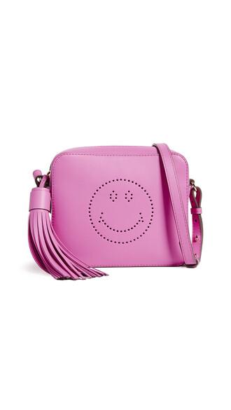 cross smiley bag