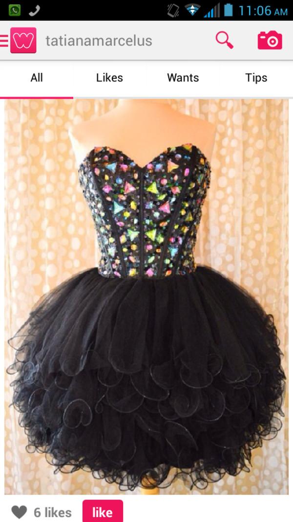 dress little black dress sparkle long sleeves short dress party