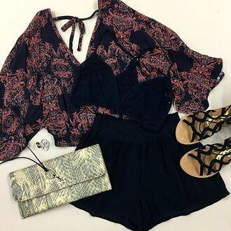 top boho summer angl la petite anglaise outfit kimono