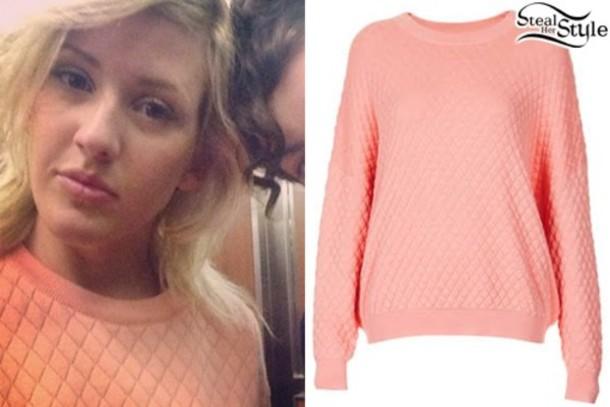 sweater ellie goulding