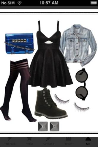 bag dress shoes pants blue grunge nastygal sunglasses