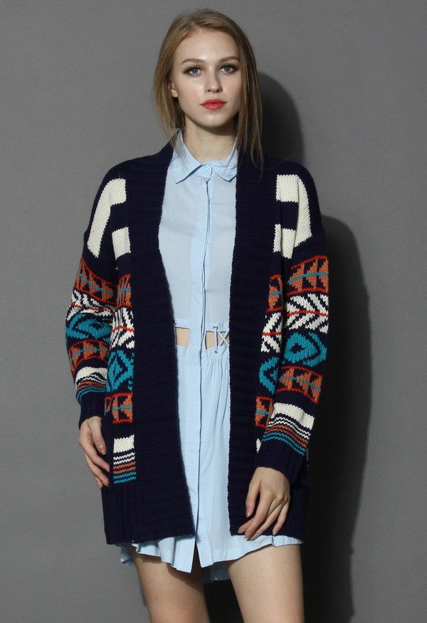 cardigan chicwish knitted cardigan