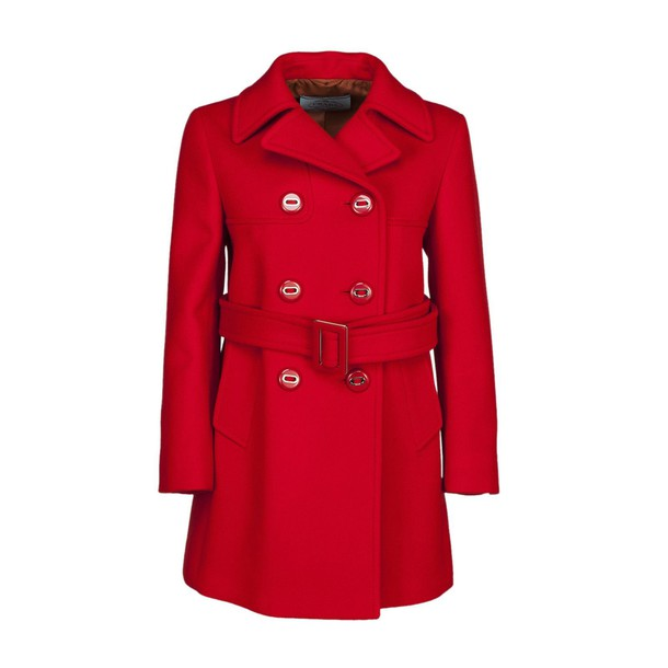 Prada coat red