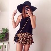 blouse,hat,felt hat