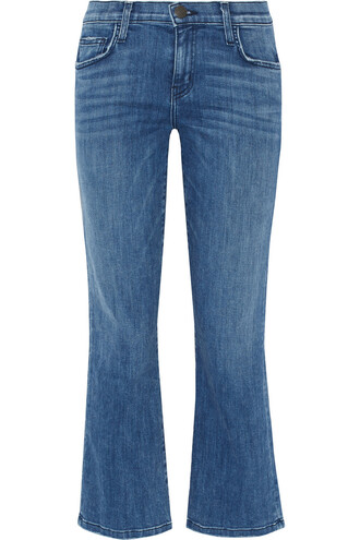 jeans cropped jeans kick flare jeans